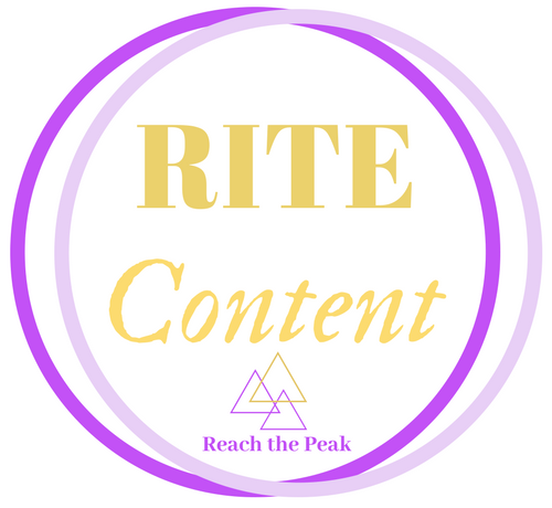 RITE Content – Reach The Peak