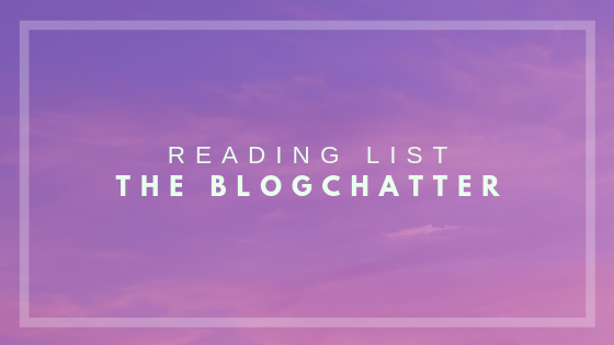 reading list title from the blogchatter