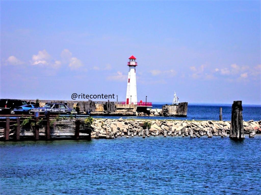 Lighthouse at St Ignace