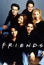 The six cast members of the Friends TV Sitcom